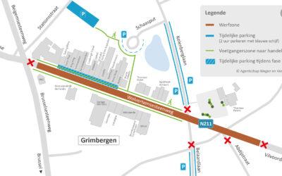 Werken Wolvertemsesteenweg vanaf 12 oktober